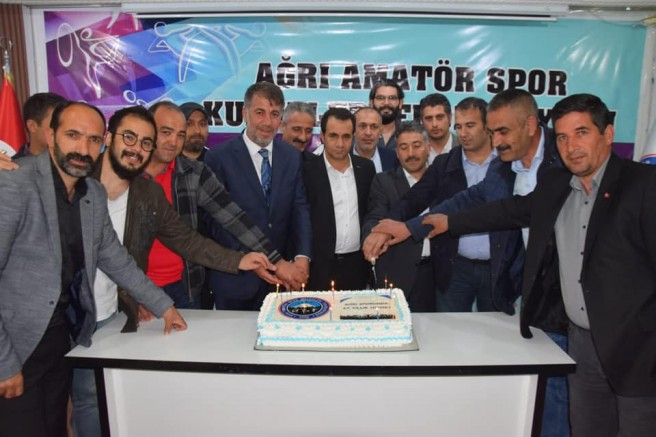 Ağrı Amatör Spor Kulüpleri Federasyonu 12. Yıl Dönümünü Kutladı