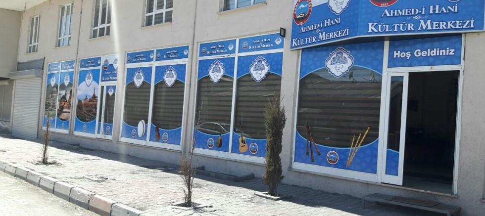 Ağrı Belediyesi Ahmed-i Hani Kültür Merkezi kursları başlıyor.