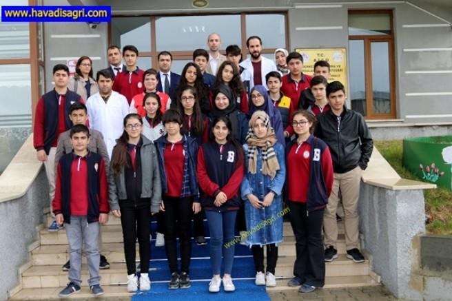 Ağrı İbrahim Çeçen Üniversitesi'ne Bilgi Koleji Öğrencilerinden Ziyaret