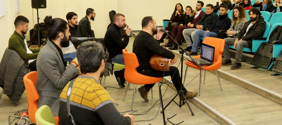 Ağrı İbrahim Çeçen Üniversitesi Öğrencilerine Müzik Ziyafeti