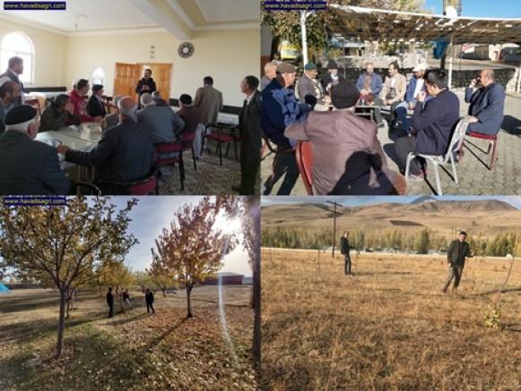 Ağrı Valiliğinin  Kapama Meyve Bahçeleri Projesi Eleşkirt'te ilgi Görüyor
