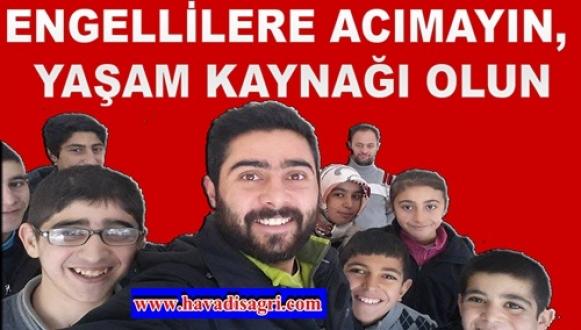 """ARSLAN """"ENGELLİLERE ACIMAYIN, YAŞAM KAYNAĞI OLUN"""""""