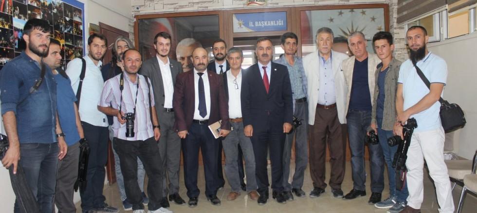 Başkan Abbas Aydın'ın 10 Ocak Çalışan Gazeteciler Günü Mesajı