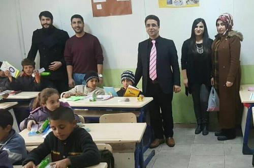 Birlik Vakfından Köy Okullarına Kırtasiye Yardımı