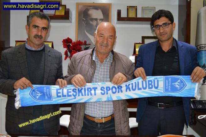 Eleşkirt Spor Yönetiminden Başkan Seferoğullarına Ziyaret