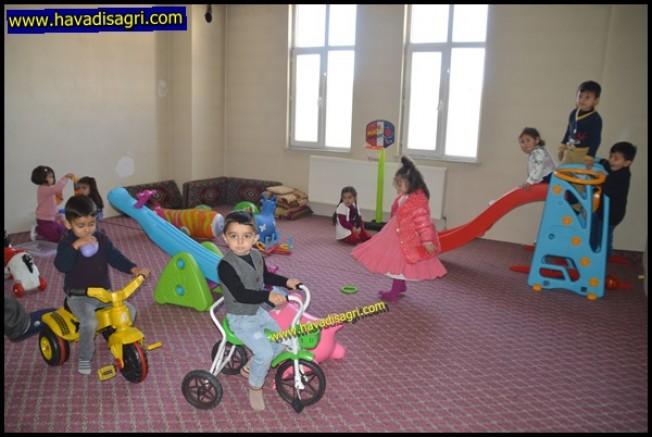 Eleşkirt'te 04-06 Yaş Arası Çocuklar için Sübyan Okulu Açıldı
