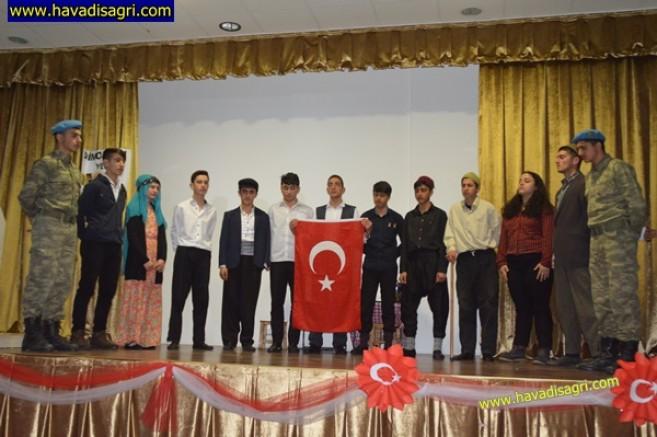 Eleşkirt'te Çanakkale Şehitlerini Anma Programı