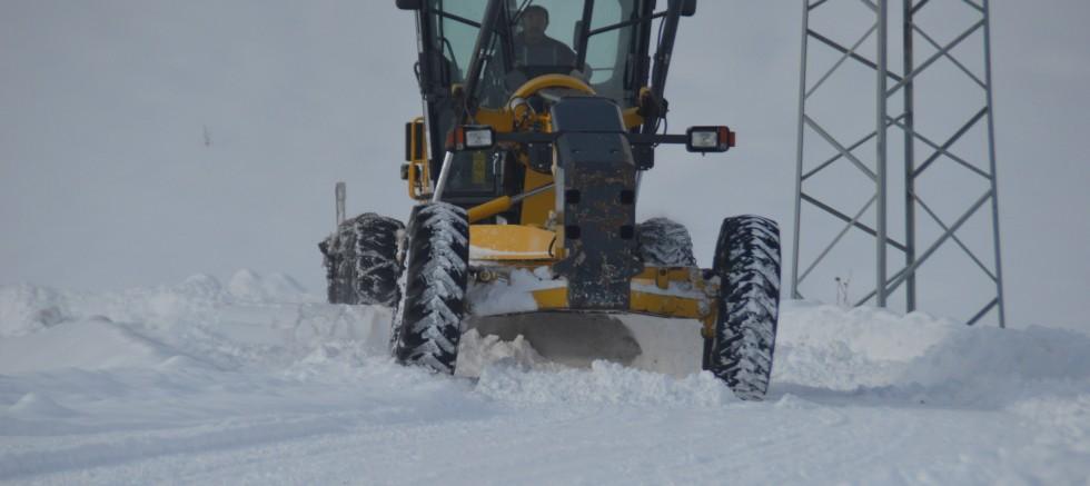 Eleşkirt'te Eğitime Kar Engeli