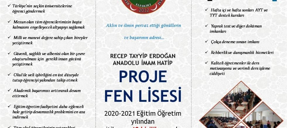 ELEŞKİRT'TE  LGS ÖĞRENCİLERİ İÇİN BÜYÜK FIRSAT