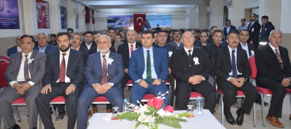 Eleşkirt'te Mevlidi Nebi  Programı Düzenlendi