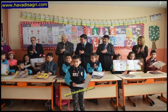Eleşkirt'te Öğrencilerin Karne Heyecanı