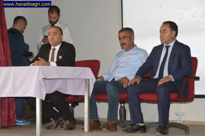 Eleşkirt'te Okul Sporları Toplantısı Yapıldı