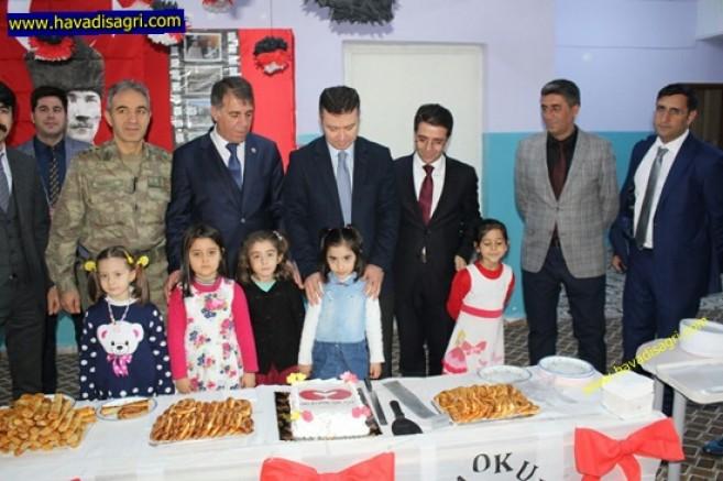 Hamur'da Çok Amaçlı Salon Açılışı Yapıldı