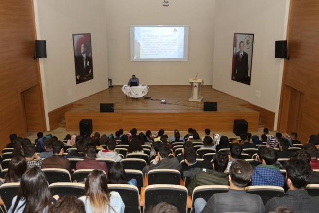 İÇÜ'DE  ERASMUS Öğrenci Hareketliliği Tanıtım ve Bilgilendirme Toplantısı Yapıldı