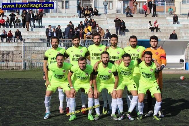 İstanbul Ağrı Spor :1 Orhaneli Spor : 1