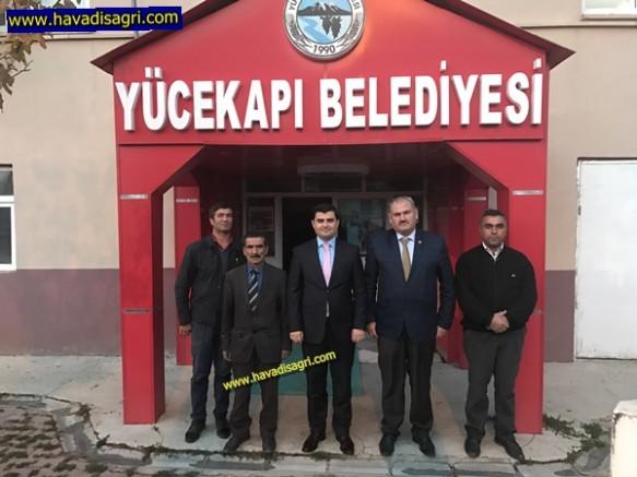 Kaymakam Sarı'dan Başkan Zeyrek'e İadeyi Ziyaret