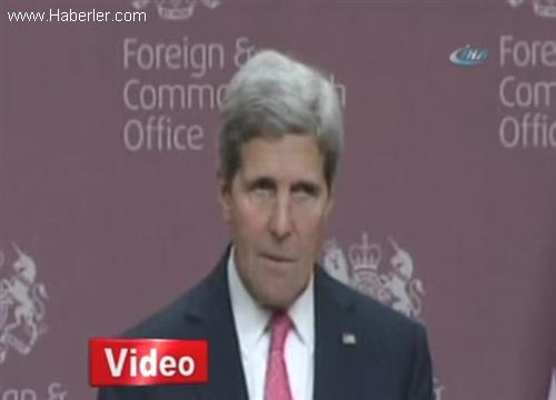 Kerry: Suriye Krizine Askeri Bir Çözüm Yok