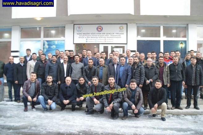 Memur-Sen Genel Başkanı Ali Yalçın, Eleşkirt'te