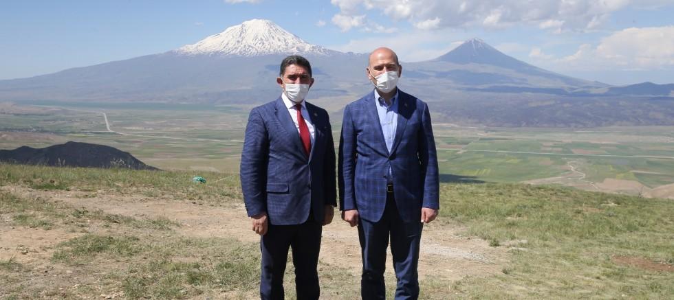 Milletvekili Çelebi'nin isteğini Bakan Soylu kabul etti: Ağrı Dağı tırmanışa açılıyor