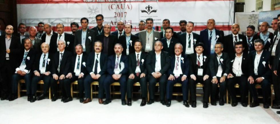 Rektör KARABULUT Merkezi Asya Üniversiteler Birliği Genel Kurul Toplantısına Katıldı