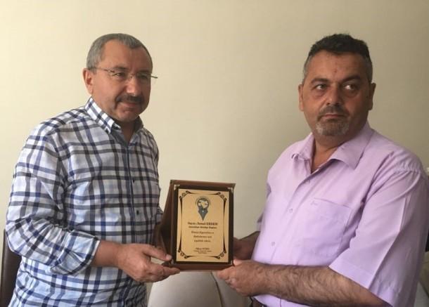 Sancaktepe Belediye Başkanından O.G.C. Başkanı Nihat Aydın'a Ziyaret