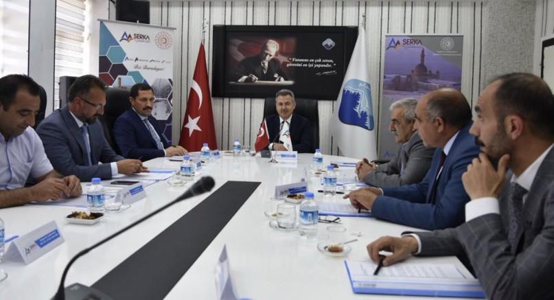 SERKA'NIN 65. Yönetim Kurulu Toplantısı Ağrı'da Gerçekleşti