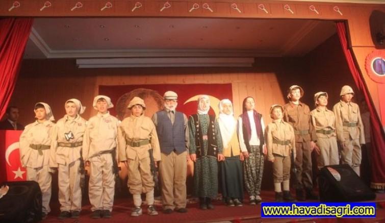 Taşlıçay 'da 18 Mart Çanakkale Şehitleri Anma Programı Yapıldı